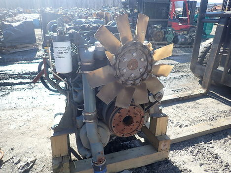 USED DETROIT DIESEL MTU 12V2000 COMPLETE ENGINE TRUCK PARTS #11627-5
