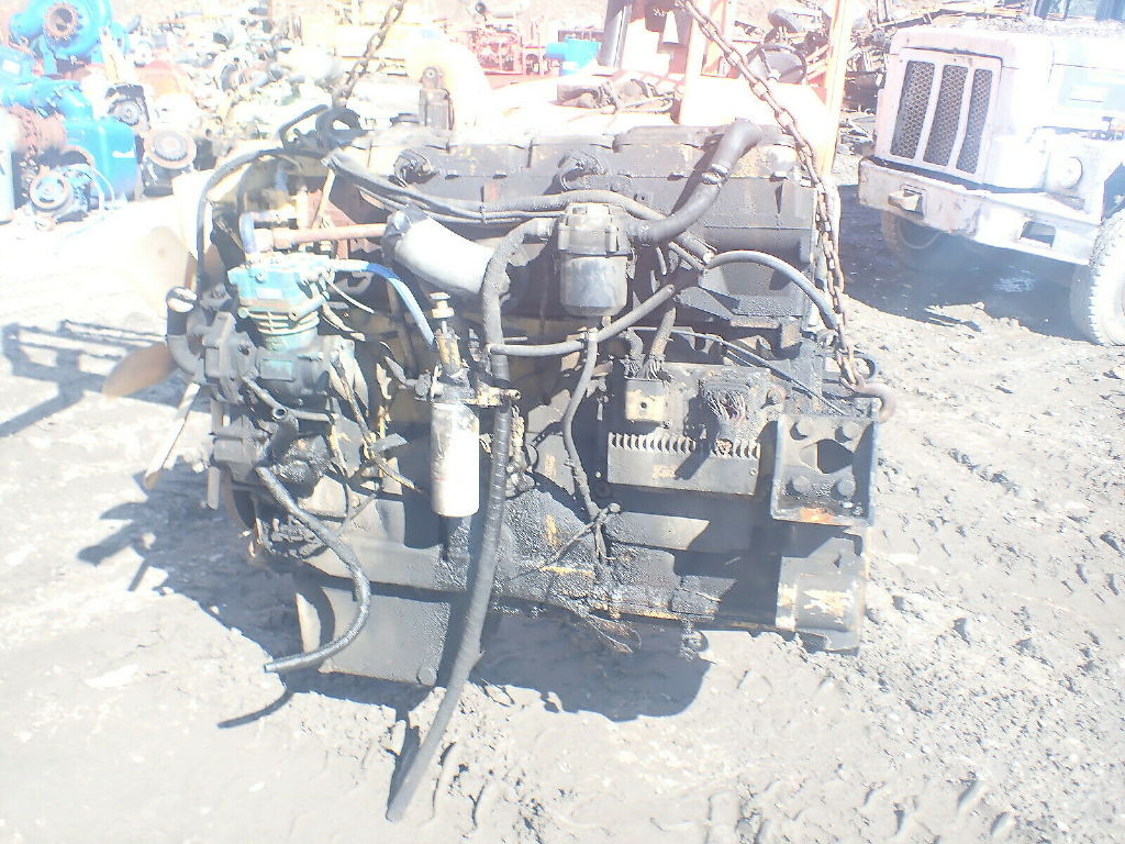 USED CAT C15 TWIN TURBO COMPLETE ENGINE TRUCK PARTS #11638