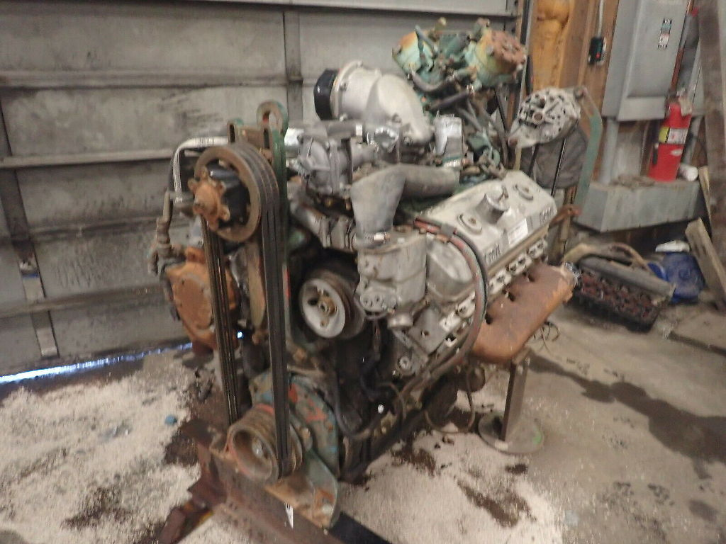 USED DETROIT DIESEL 8V71 COMPLETE ENGINE TRUCK PARTS #11686