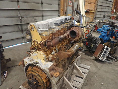 USED CAT C15 TURBO COMPLETE ENGINE TRUCK PARTS #11691-2