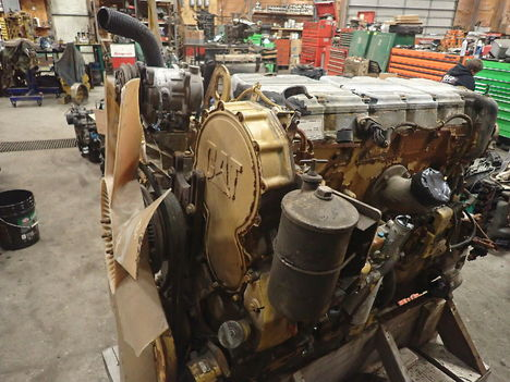 USED CAT C15 TURBO COMPLETE ENGINE TRUCK PARTS #11691-4
