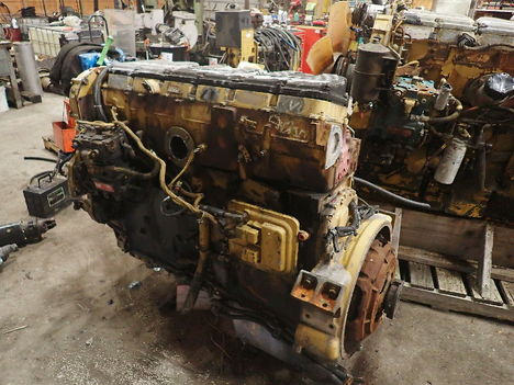 USED CAT 3406E COMPLETE ENGINE TRUCK PARTS #11692-2