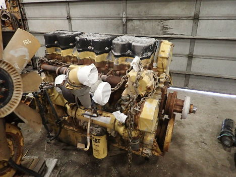 USED CAT 3406E COMPLETE ENGINE TRUCK PARTS #11692-4