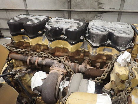 USED CAT 3406E COMPLETE ENGINE TRUCK PARTS #11692-5