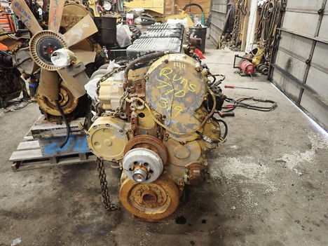 USED CAT 3406E COMPLETE ENGINE TRUCK PARTS #11692-6