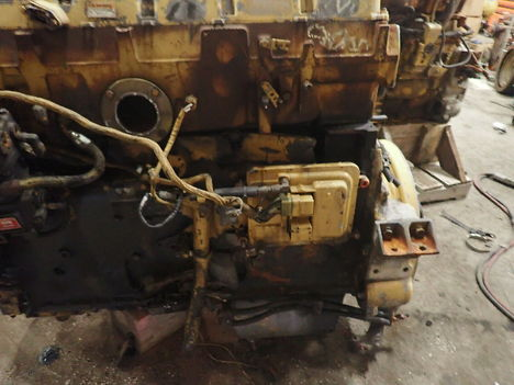 USED CAT 3406E COMPLETE ENGINE TRUCK PARTS #11692-7