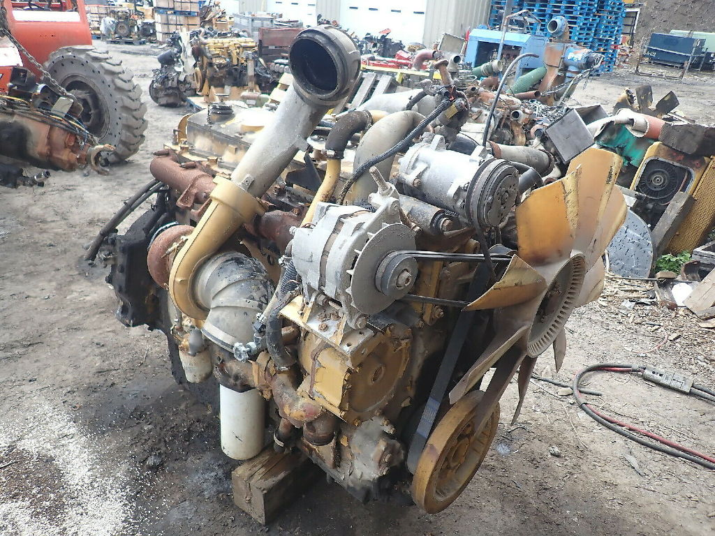 USED 1992 CAT 3406B TURBO COMPLETE ENGINE TRUCK PARTS #11707