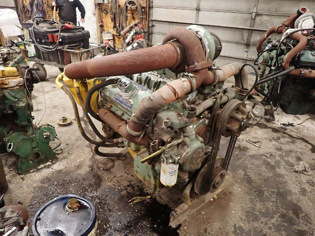 USED DETROIT DIESEL 8V92TA COMPLETE ENGINE TRUCK PARTS #11715