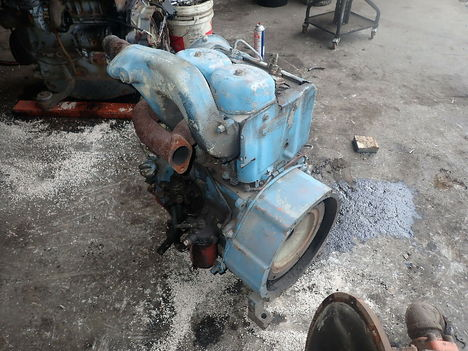 USED DEUTZ F2L511 COMPLETE ENGINE TRUCK PARTS #11726-4