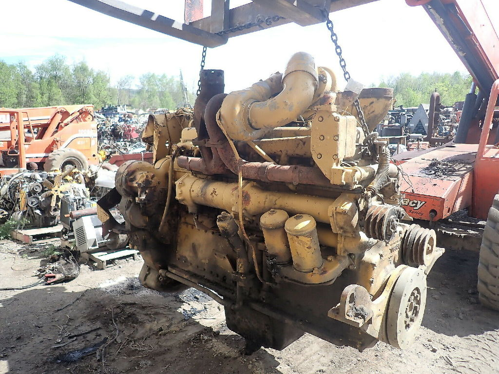 USED CAT D353 COMPLETE ENGINE TRUCK PARTS #11734