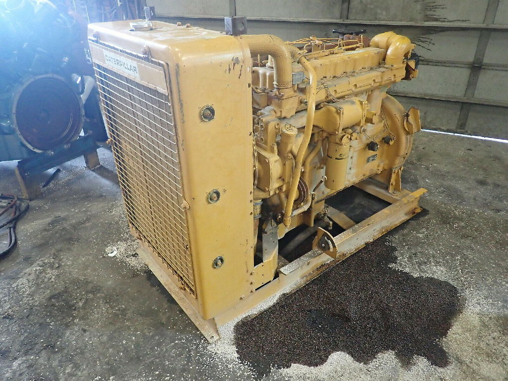 USED CAT 3306 PC COMPLETE ENGINE TRUCK PARTS #11737