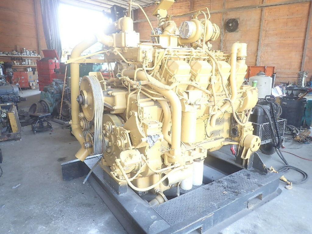 USED CAT 3508 COMPLETE ENGINE TRUCK PARTS #11742
