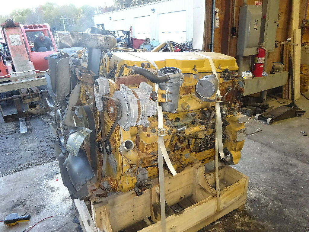 USED CAT C13 COMPLETE ENGINE TRUCK PARTS #11744