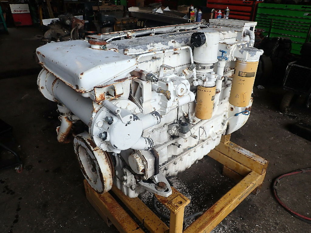 USED CAT 3116 COMPLETE ENGINE TRUCK PARTS #11764
