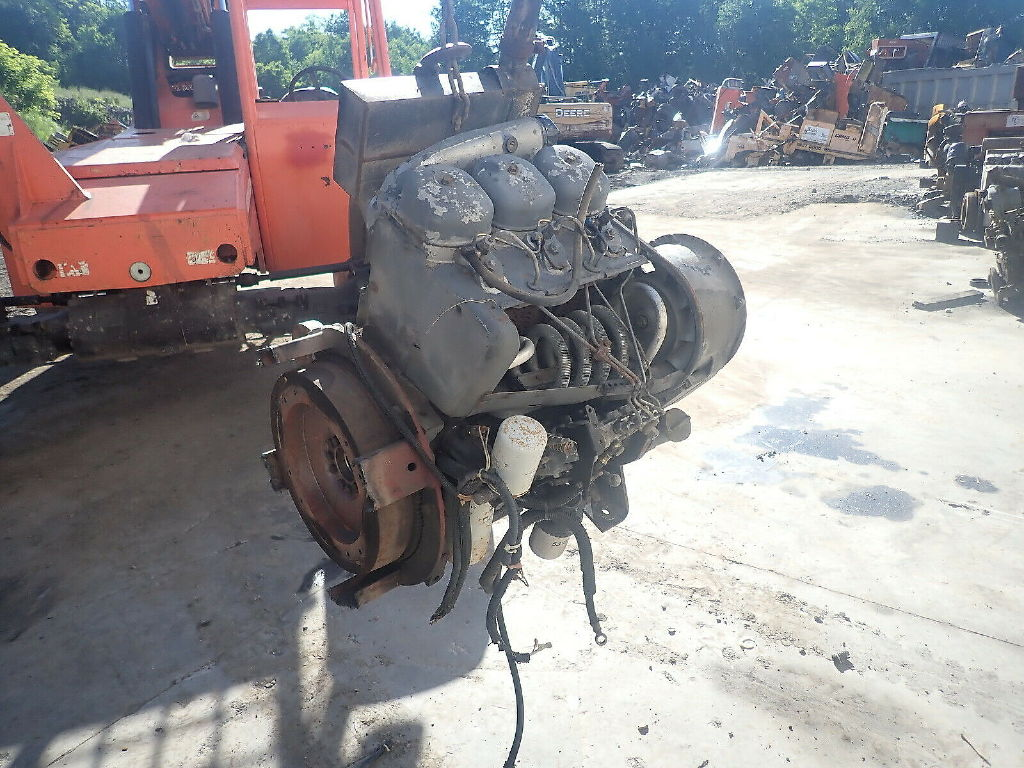 USED DEUTZ F3L912 COMPLETE ENGINE TRUCK PARTS #11778