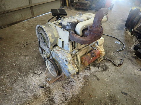 USED DEUTZ F3L912 COMPLETE ENGINE TRUCK PARTS #11779-1