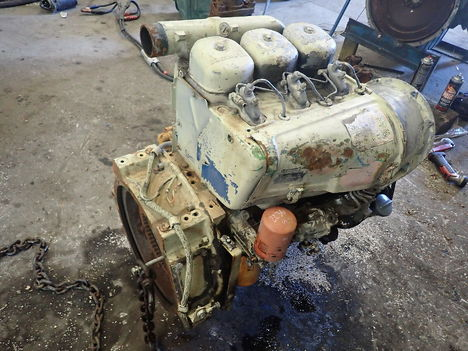 USED DEUTZ F3L912 COMPLETE ENGINE TRUCK PARTS #11779-3