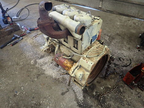 USED DEUTZ F3L912 COMPLETE ENGINE TRUCK PARTS #11779-4