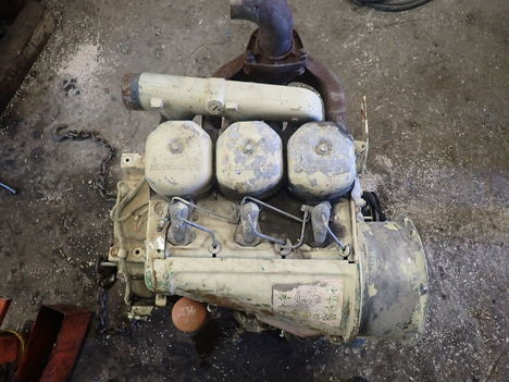 USED DEUTZ F3L912 COMPLETE ENGINE TRUCK PARTS #11779-6