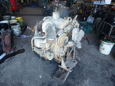 USED DETROIT DIESEL 3-53 TURBO COMPLETE ENGINE TRUCK PARTS #11788-1