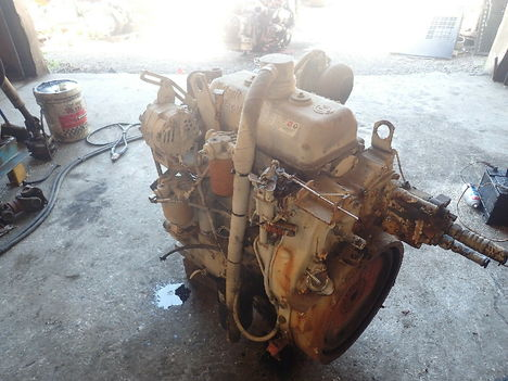 USED DETROIT DIESEL 3-53 TURBO COMPLETE ENGINE TRUCK PARTS #11788-3