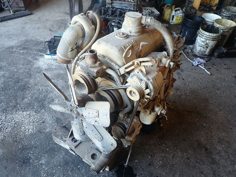 USED DETROIT DIESEL 3-53 TURBO COMPLETE ENGINE TRUCK PARTS #11788-4