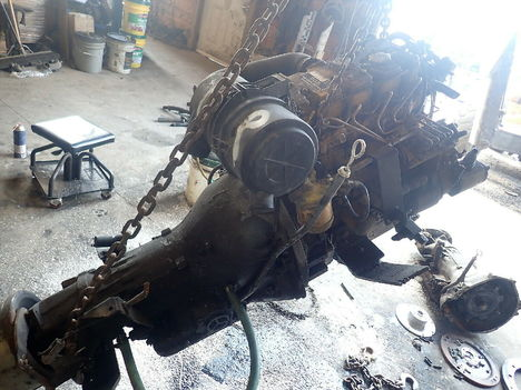USED CAT C2.2 COMPLETE ENGINE TRUCK PARTS #11835-4