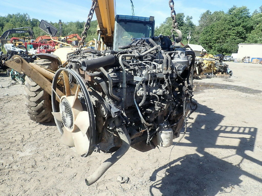 USED ISUZU 4HK1TC COMPLETE ENGINE TRUCK PARTS #11845
