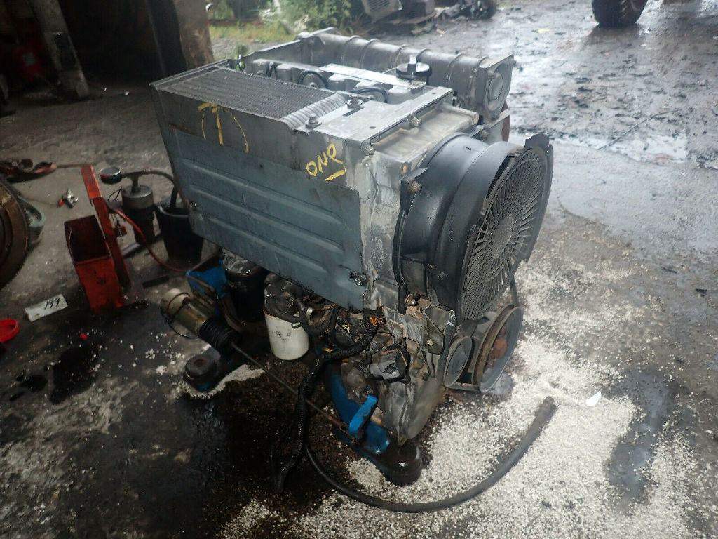 USED DEUTZ F3L1011F COMPLETE ENGINE TRUCK PARTS #11953