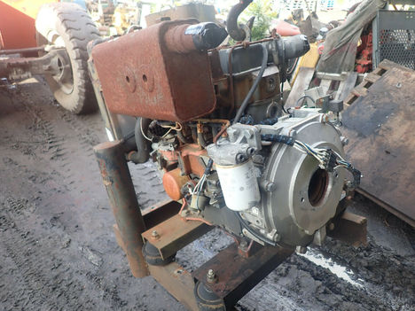 USED LISTER PETTER LPW3 COMPLETE ENGINE TRUCK PARTS #11955-1