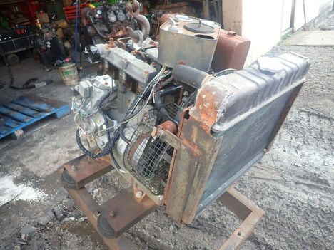 USED LISTER PETTER LPW3 COMPLETE ENGINE TRUCK PARTS #11955-3
