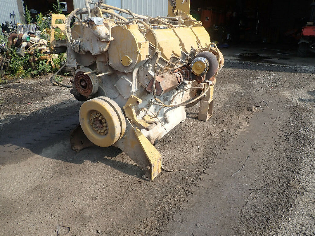 USED CAT C32 COMPLETE ENGINE TRUCK PARTS #11961