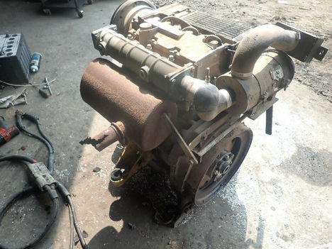 USED DEUTZ F3L1011F COMPLETE ENGINE TRUCK PARTS #11984-3
