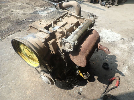 USED DEUTZ F3L1011F COMPLETE ENGINE TRUCK PARTS #11984-4