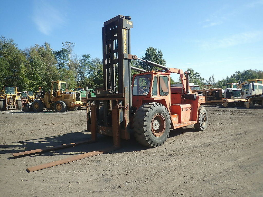 USED FORANO EAVES E300 MAST FORKLIFT EQUIPMENT #12004