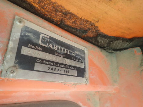 USED FORANO EAVES E300 MAST FORKLIFT EQUIPMENT #12004-11