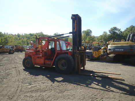 USED FORANO EAVES E300 MAST FORKLIFT EQUIPMENT #12004-2
