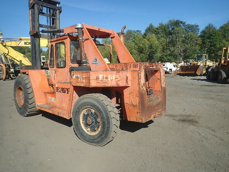 USED FORANO EAVES E300 MAST FORKLIFT EQUIPMENT #12004-6