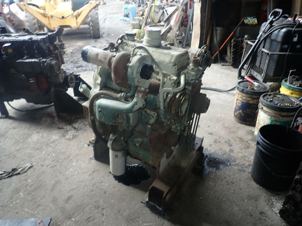 USED DETROIT DIESEL 3-53T COMPLETE ENGINE TRUCK PARTS #12025