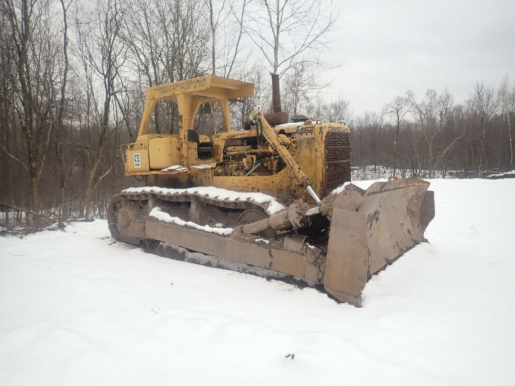 USED 1978 CAT D8K CRAWLER DOZER EQUIPMENT #12193
