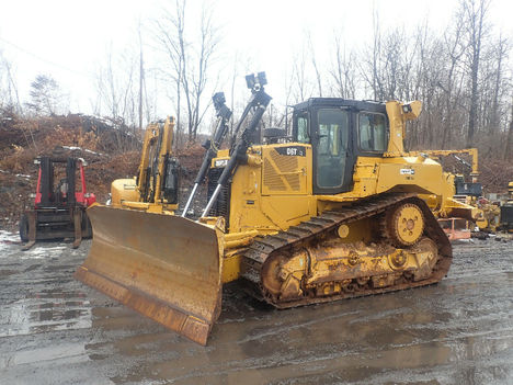 USED 2013 CAT D6T XL CRAWLER DOZER EQUIPMENT #12202-1