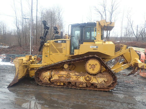 USED 2013 CAT D6T XL CRAWLER DOZER EQUIPMENT #12202-2