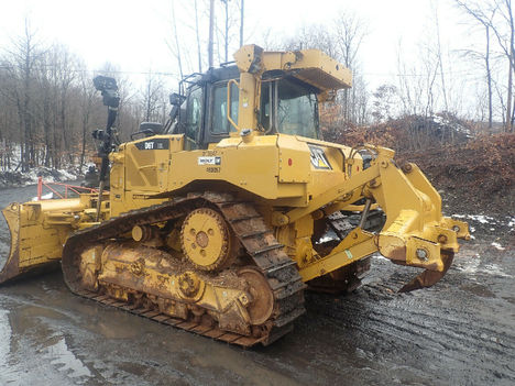 USED 2013 CAT D6T XL CRAWLER DOZER EQUIPMENT #12202-3