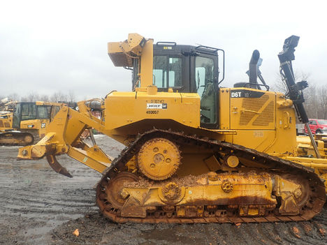 USED 2013 CAT D6T XL CRAWLER DOZER EQUIPMENT #12202-5