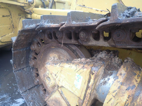 USED 2013 CAT D6T XL CRAWLER DOZER EQUIPMENT #12202-8