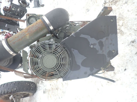USED DEUTZ BF4L1011 COMPLETE ENGINE TRUCK PARTS #12218-3