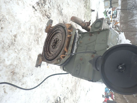 USED DEUTZ BF4L1011 COMPLETE ENGINE TRUCK PARTS #12218-8