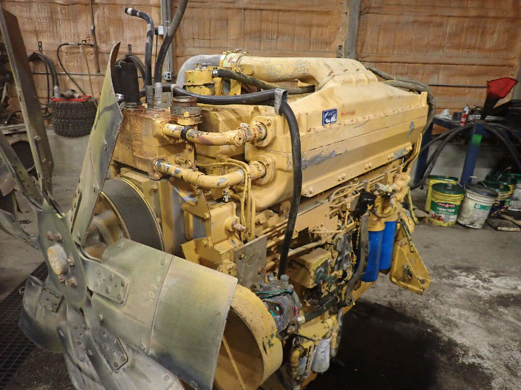USED CUMMINS QSK19C COMPLETE ENGINE TRUCK PARTS #12296