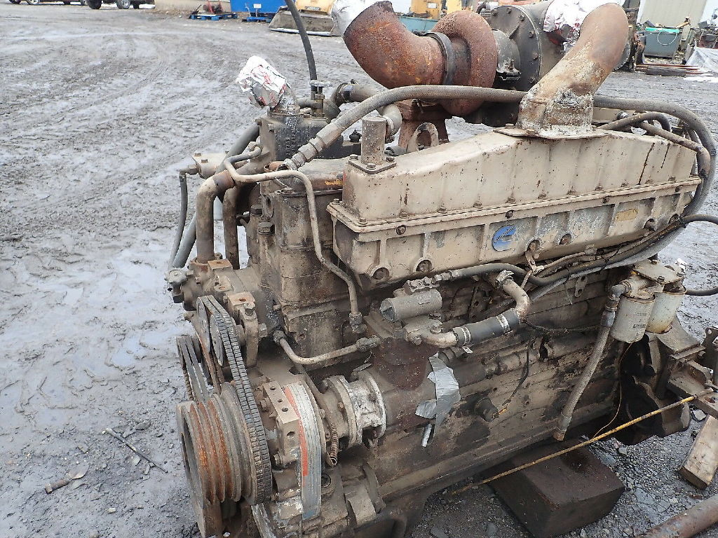 USED CUMMINS NTC335 COMPLETE ENGINE TRUCK PARTS #12378