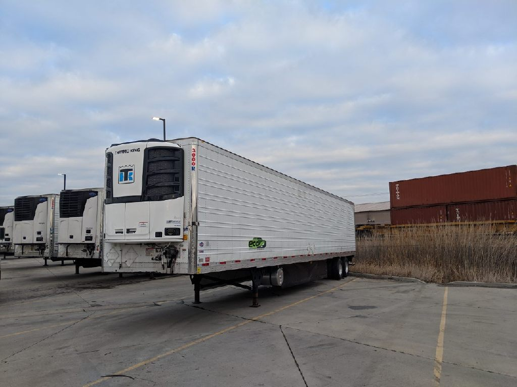 USED 2014 UTILITY NEW C-600 THERMOKING REEFER TRAILER #14053